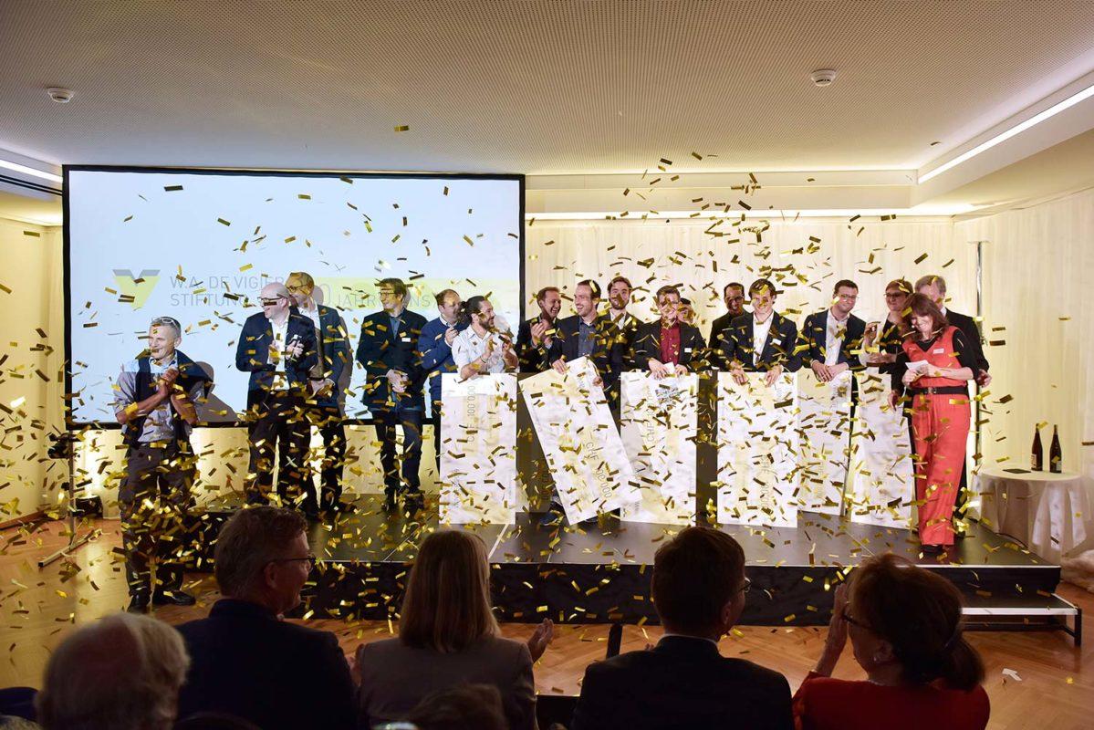 W. A. de Vigier swiss startup award winners 2019