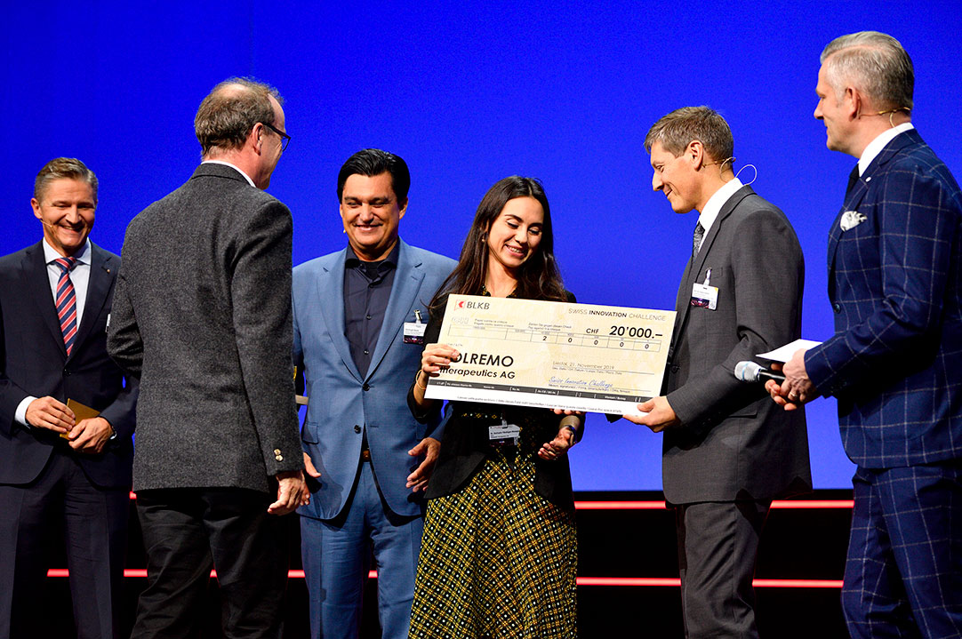 Tolremo is a winner of Swiss innovation challenge for startups 2019